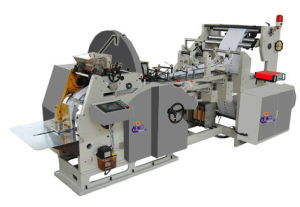 Fast Food Paper Bag Making Machine, Flat Bottom Bag pictures & photos