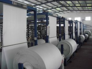PP Woven Fabric in Tubular Roll for Agricultural Mulch Film pictures & photos