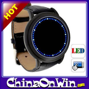Fashionable Inspired Blue LED Touchscreen Wrist Watch Bracelet