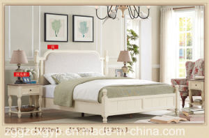 Morden Bedroon Furniture Wood Bed/Hihg Quality Wood Solid Wood Bed Cx-Wb05 pictures & photos