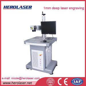Multiple Languages Operation System Metal Fiber Laser Marking Engraving Machine pictures & photos