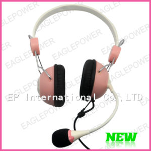 Beautiful and Fashionable Computer Accesories Headset Headphone With Mic