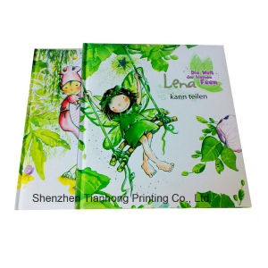 Cmyk Printing Children′s Hardcover Story Book (OEM-HC016) pictures & photos