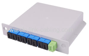8 cores insert type PLC splitter pictures & photos