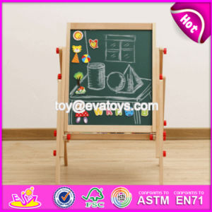 New Design Adjustable Children Wooden Double Sided Drawing Board W12b107 pictures & photos