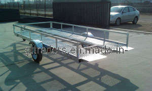 Hot DIP Galvanized Golf Cart Trailer pictures & photos