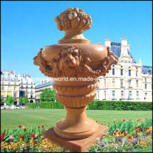 Natural Stone Hand Carved Planter (GS-FL-019) pictures & photos