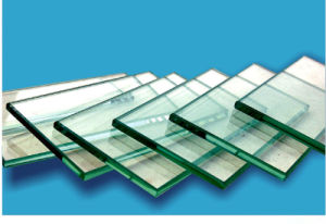 Clear Colored/Coated/Reflective Float Tempered Building Glass pictures & photos