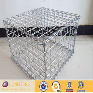 SGS Factory Galvanized Welded Gabion Basket Prices (LT-184)