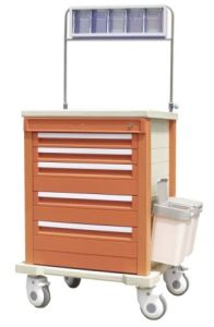ABS Plastic Medical Anesthesia Trolley (THR-AT-60005B) pictures & photos