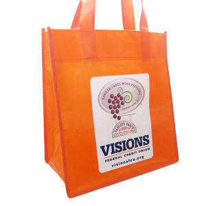 Laminated PP Non Woven Tote Shopping Bag / Non Woven Bag pictures & photos