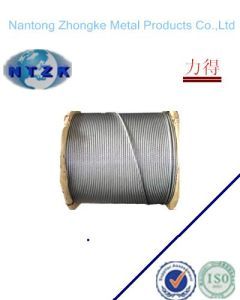 High Quality of Galvanized Steel Rope for Elevator pictures & photos