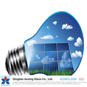Low Iron Ar-Coating Tempered Ultra Clear Solar Glass for Solar Panel pictures & photos
