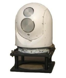 Gyro Stabilised Maritime Electro Optical Infrared Night Vision Eo IR Turret pictures & photos