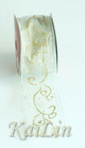 Silk Tipping Metallic Ribbon (KLR-0019)