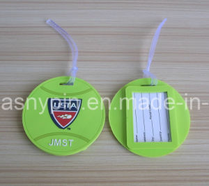 Rubber Usta Tennis Ball Shape Luggage Tags pictures & photos