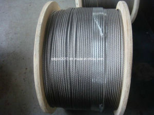 AISI304 Stainless Steel Wire Rope with ISO9001: 2008