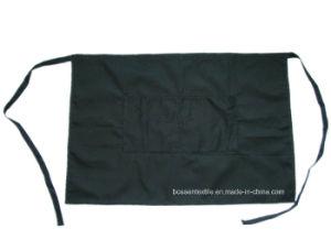 Factory Produce Cotton Denim Black Cooking Pocket Waist Apron pictures & photos