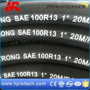 Steel Wire Spiral Rubber Hose Hydraulic Hose (SAE 100r13) pictures & photos