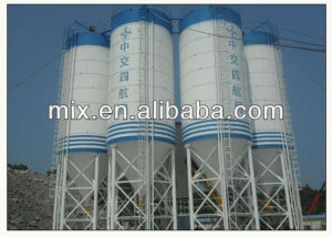 Cement Silo in Concrete Batching Plant pictures & photos