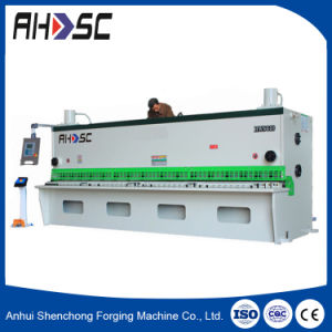 Plate Rolling Hydraulic CNC Cutting Machine (QC11Y-6X2500) pictures & photos