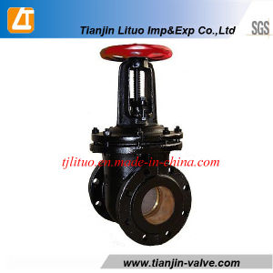 Flange GOST Gate Valve 30CH6br pictures & photos