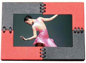 7 Inch Leather Digital Photo Frame (HDF-7015L)