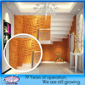 Acoustic Insulation Soundproofing Waterproof Construction Decoration Material for 3D Panel pictures & photos