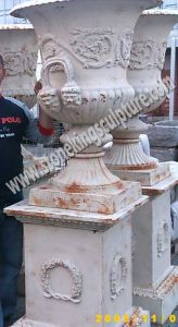 Cast Iron Flowerpot, Cast Iron Vase and Cast Iron Urn (SK-5012A) pictures & photos