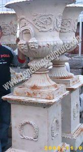 Cast Iron Flowerpot for Garden Decoration (SK-5012A) pictures & photos
