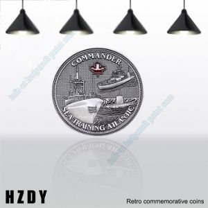 High Quality Silver Metal Coin Customized