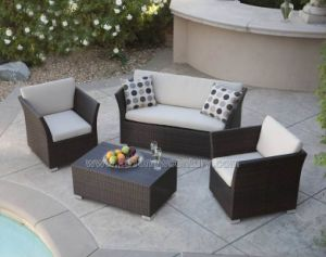 Outdoor / Garden / Patio / Rattan Sofa (NC6084)