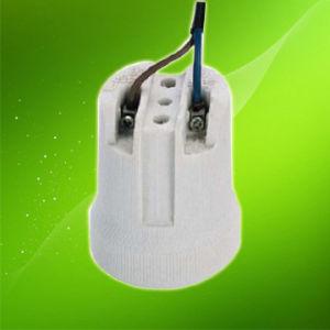 E27 Porcelain Lamp Holder/Ceramics Lamp Holder Ce VDE (HC519W) pictures & photos