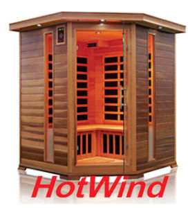 Far Infrared Sauna Traditional Sauna Wooden Sauna for 3-4 People (SEK-D3C) pictures & photos