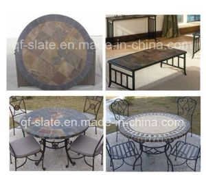Traditional Slate Pillar, Slate Column, Slate Table for House (QF-ST01)