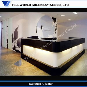 Contemporary Design Salon LED Light Bar Counter, Commercial Bar