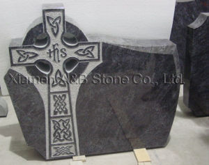 England & Ireland Style Granite Headstone with Cross Design pictures & photos