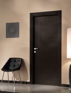 Contempory Simple Panel HDF Flush Door pictures & photos