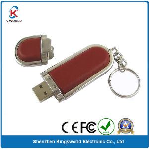 Distinctive 8GB Leather USB Thumb Drive pictures & photos
