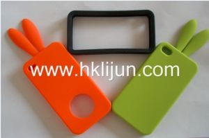 Rabbit Ears Silicone Case for iPhone 4