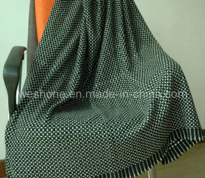 Wool Throw, Wool Blanket, Throw (CMT-0901074) pictures & photos