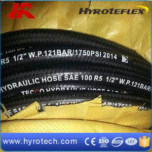 Fiber Wire Braid Hydraulic Hose SAE 100r5 China Factory pictures & photos