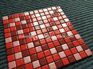 Luxurious Full Body Red Glassic Mosaic for Swimming Pool pictures & photos