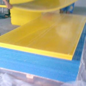 Yellow Blue PE Plastic Sheets pictures & photos