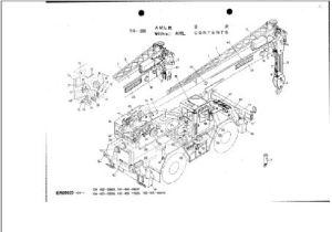 Tadano Cranes Parts Catalog 2009