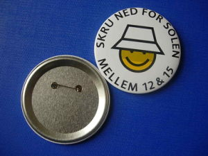 Button Tin Badge, Printing Logo Badge (HY-MKT-0047) pictures & photos