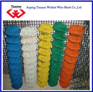 PVC Coated and Galvanzied Chain Link Fence (TYB-0004) pictures & photos