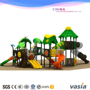 Bright Plastic Slide Climbing Tube Outdoor Playground pictures & photos