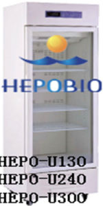 2 to 8 Degree 300L Upright Style Medical Refrigerator (HEPO-U300) pictures & photos