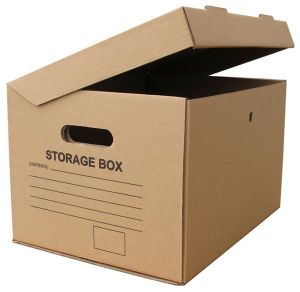 Corrugated Paper Archive Storage Box (FP11038) pictures & photos